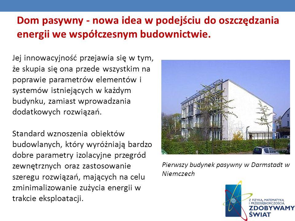 Dom pasywny - nowa idea w podejściu do oszczędzania energii we współczesnym budownictwie.
