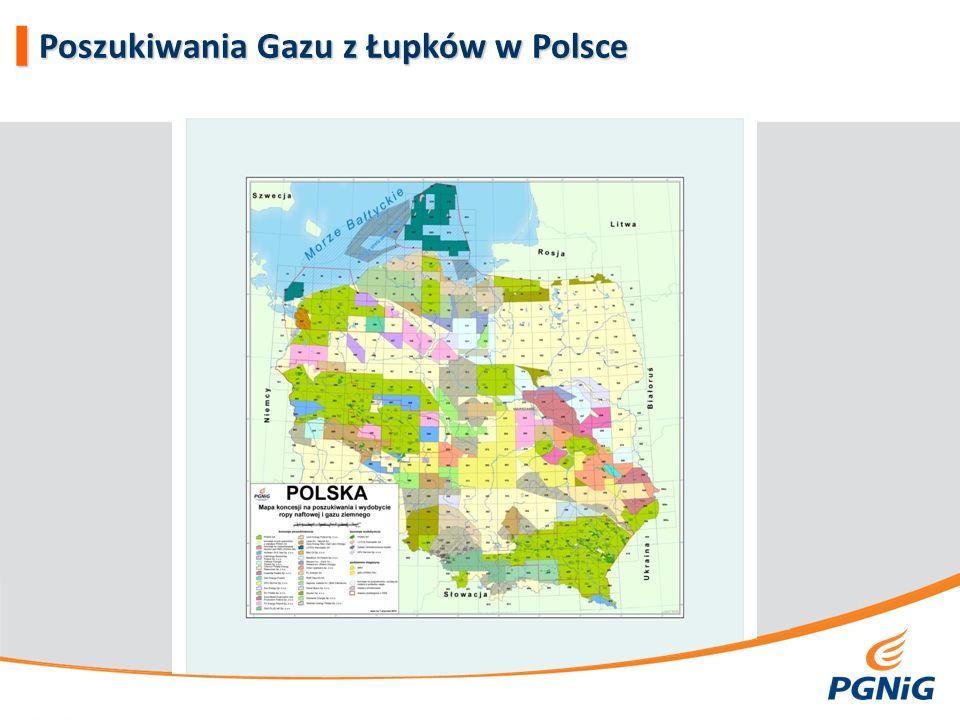 Shale Gas Basins Zasoby GeologiczneZasoby Wydobywalne Mld m 3 TcfMld m 3 Tcf Basen Ba łtycki145565143653129 Basen Lubelski6287222124644 Obniżenie Podlaskie15865639614 Źródło: US Energy Information Administration, kwiecień 2011 Mld m 3 =10 9 m 3, Tcf=10 12 ft 3   Szacunkowe Zasoby Gazu z Łupków w Polsce 3 3