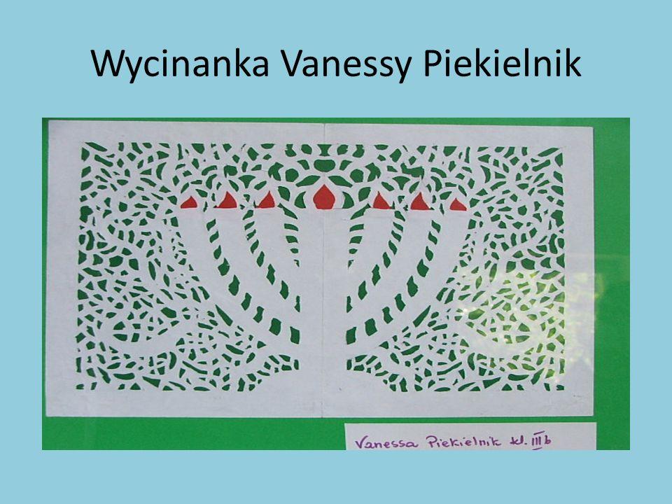 Wycinanka Vanessy Piekielnik