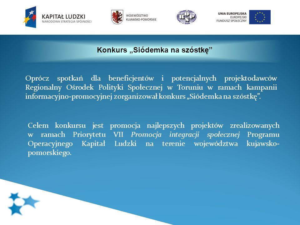 Oprócz spotkań dla beneficjentów i potencjalnych projektodawców Regionalny Ośrodek Polityki Społecznej w Toruniu w ramach kampanii informacyjno-promoc