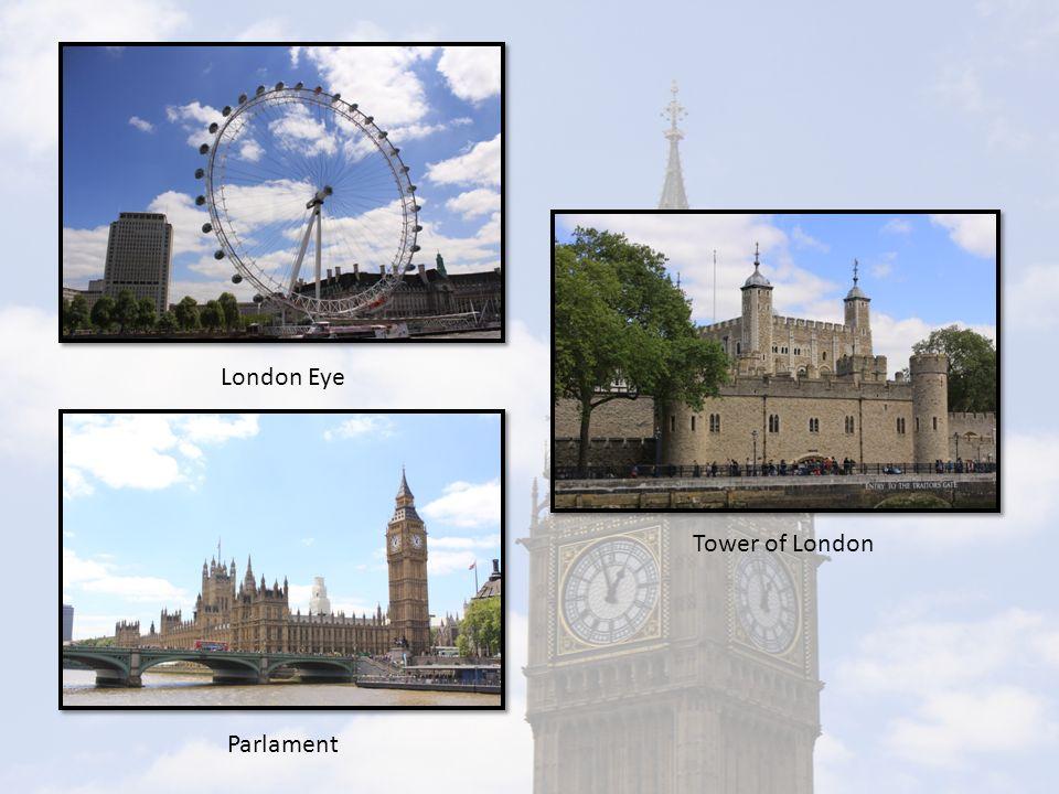 London Eye Parlament Tower of London