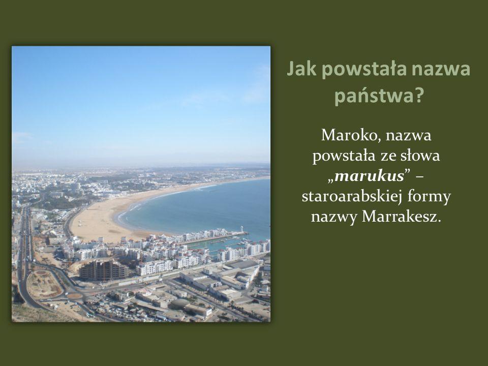 Ciekawostki z Maroko Tanger w latach 1922 - 1956 był miastem pod specjalnym nadzorem międzynarodowym sprawowanym przez rządy ośmiu europejskich państw.