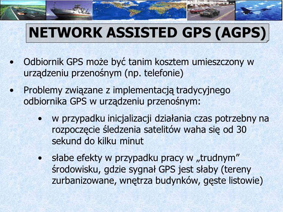 Problemy związane z implementacją tradycyjnego odbiornika GPS w urządzeniu przenośnym cd.