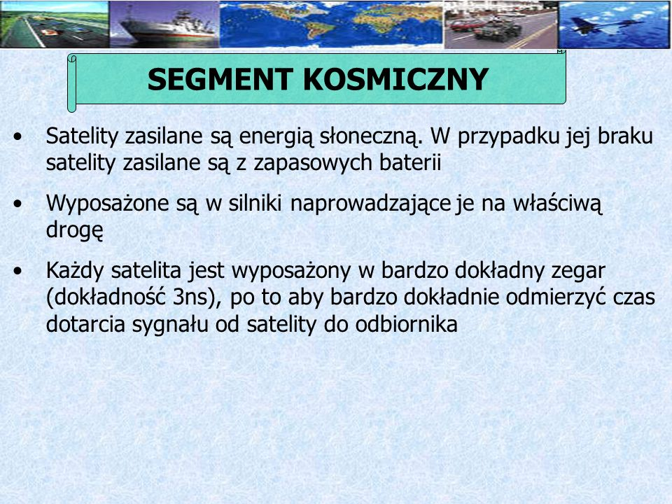 SEGMENT KOSMICZNY