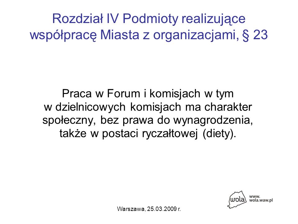 Warszawa, 25.03.2009 r.