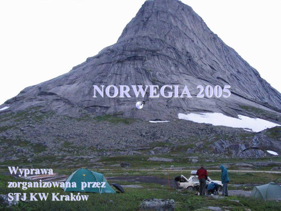 Wyprawa zorganizowana przez STJ KW Kraków NORWEGIA 2005