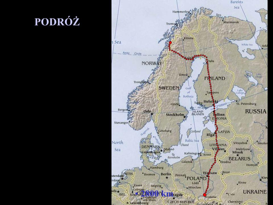Rejon, który dostaliśmy do sprawdzenia to okolice jeziora Šluŋkkajávri