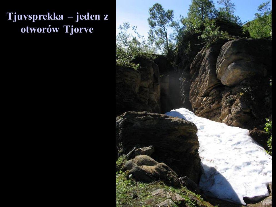 Tjuvsprekka – jeden z otworów Tjorve