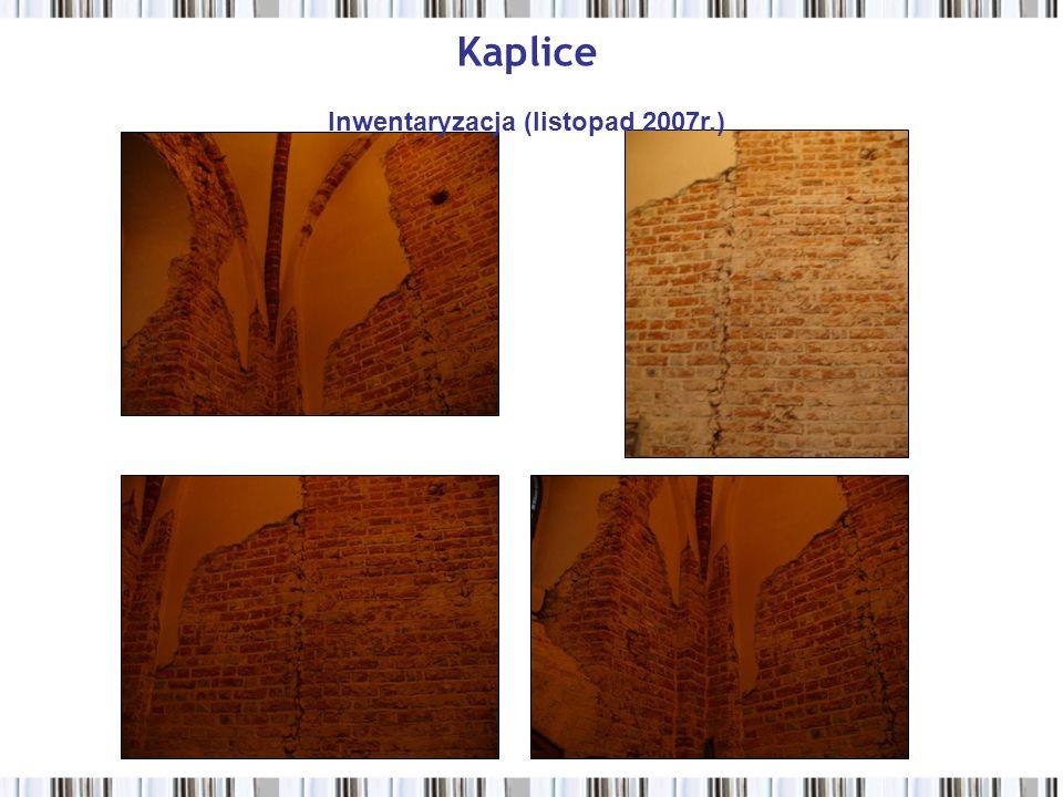 Kaplice Inwentaryzacja (listopad 2007r.)