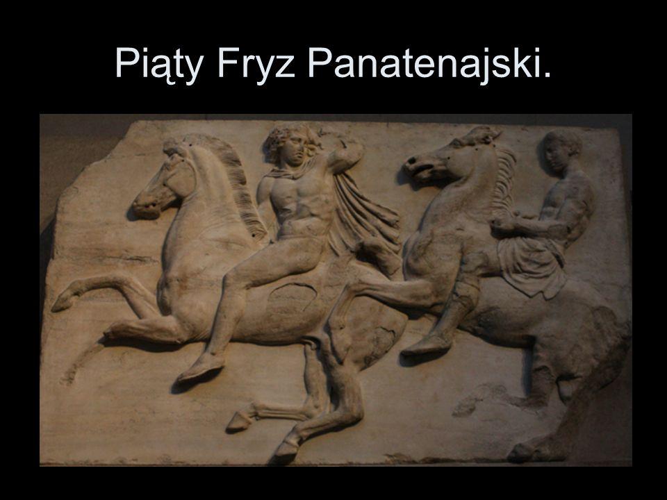 Piąty Fryz Panatenajski.