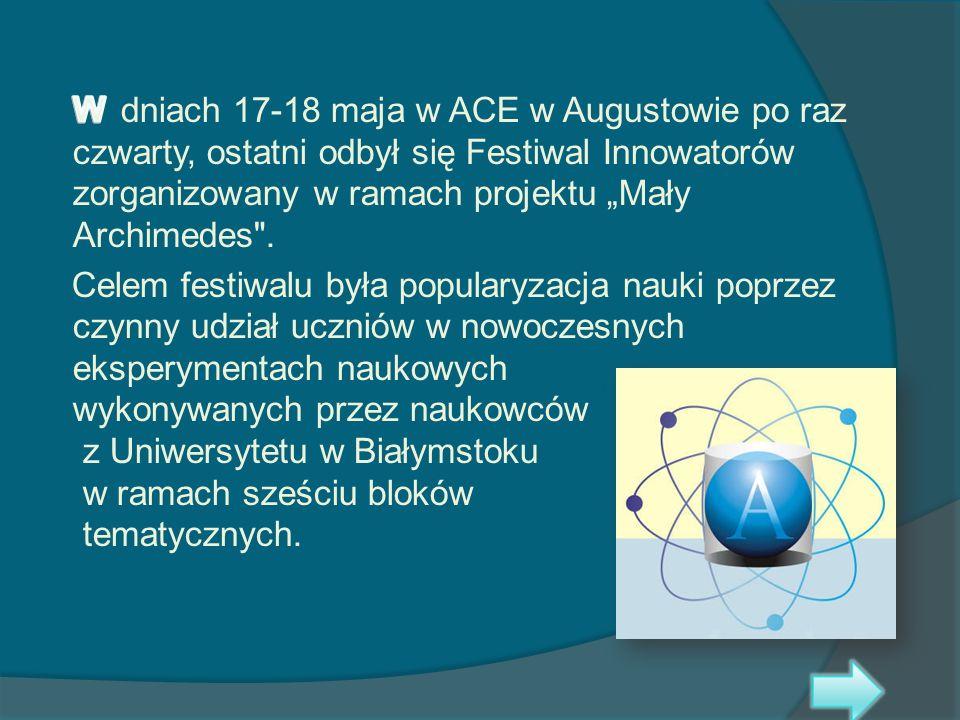 Z naszej szkoły w Festiwalu wzięły udział uczennice: * Urszula Namiotko z kl.