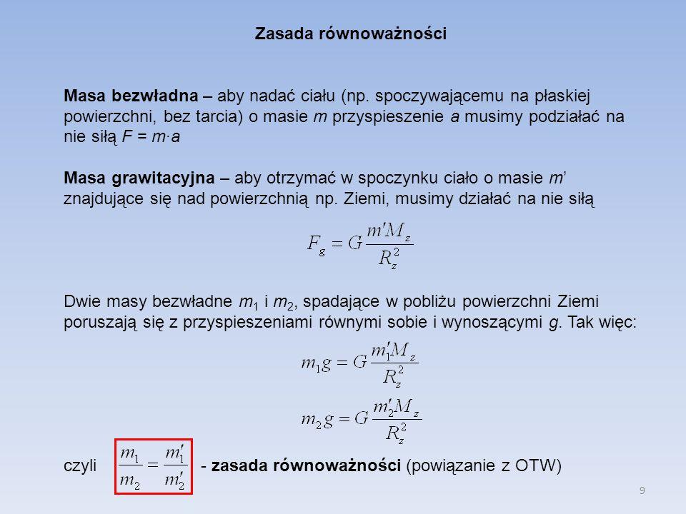 10 Praca i energia Definicja pracy W: Jednostką pracy jest dżul (J) 1J = 1N·m Przykłady: 1)praca wykonana przez stałą siłę (sanki) 2)praca wykonana przez siłę zmienną (siła sprężystości).