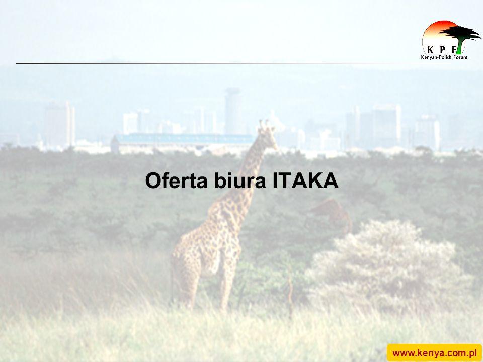 www.kenya.com.pl Oferta biura ITAKA