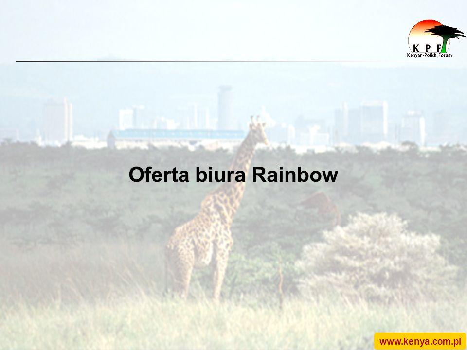 www.kenya.com.pl Oferta biura Rainbow
