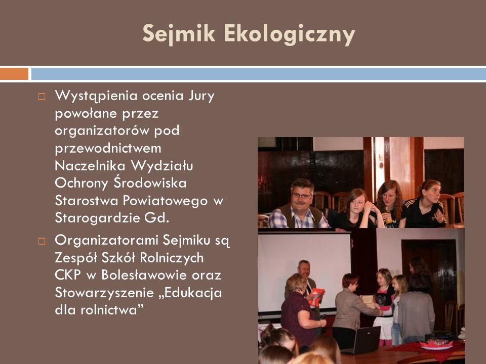 Ekologiczna ścieżka edukacji rolniczej Ekologiczna ścieżka edukacji rolniczej powstała w 2002 roku przy Zespole Szkół Rolniczych Centrum Kształcenia Praktycznego w Bolesławowie.