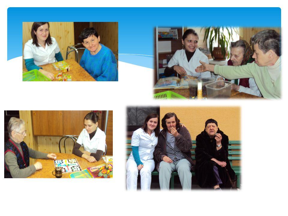 Terapia zajęciowa z pensjonariuszami