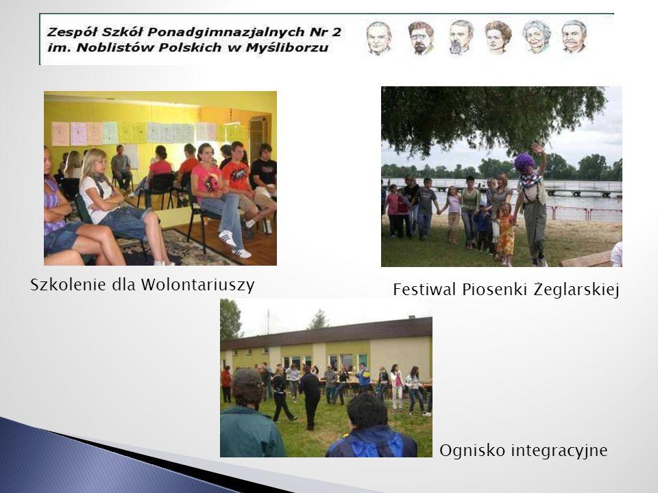 Szkolenie dla Wolontariuszy Festiwal Piosenki Żeglarskiej Ognisko integracyjne