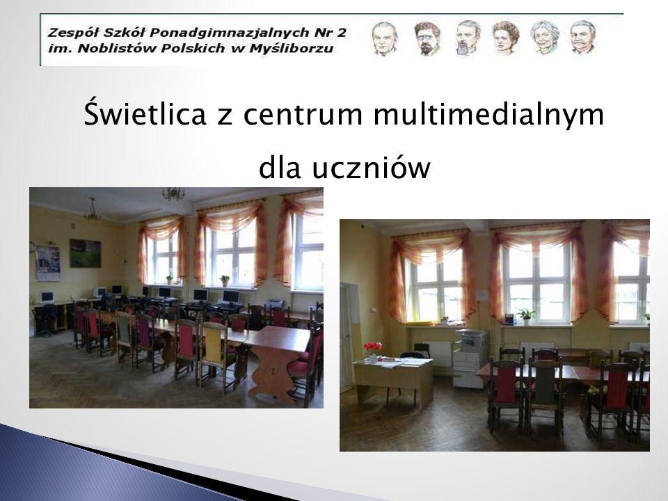 Świetlica z centrum multimedialnym dla uczniów