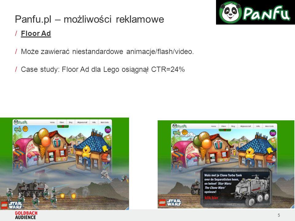 5 /Floor Ad /Może zawierać niestandardowe animacje/flash/video.