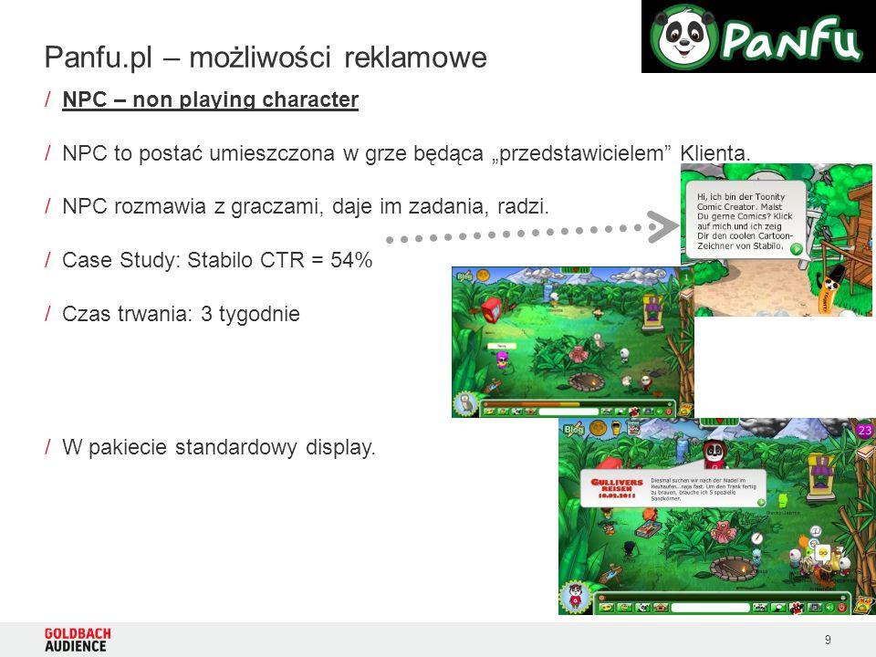 9 /NPC – non playing character /NPC to postać umieszczona w grze będąca przedstawicielem Klienta.