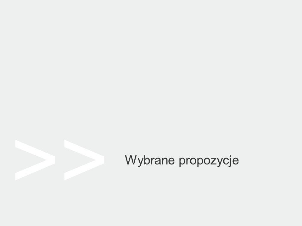 >> Wybrane propozycje
