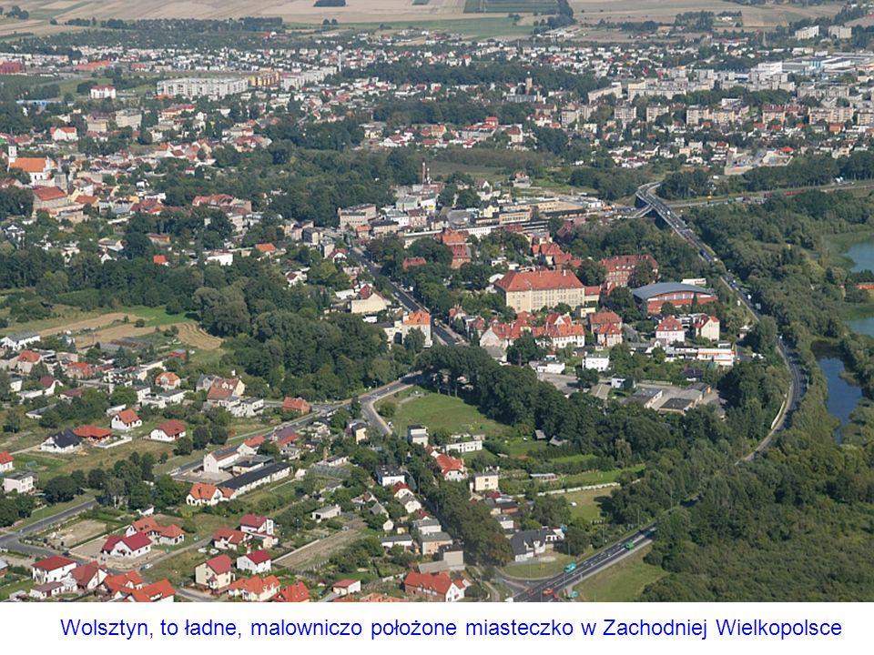 Wolsztyn, to ładne, malowniczo położone miasteczko w Zachodniej Wielkopolsce