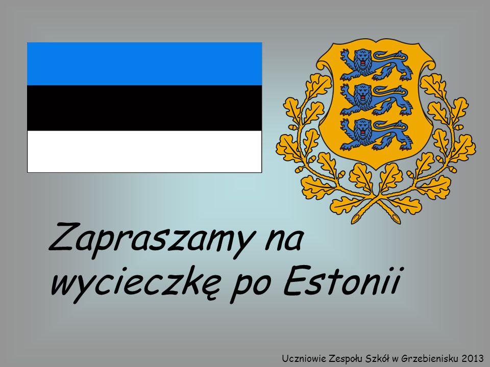 Zapraszamy na wycieczkę po Estonii Uczniowie Zespołu Szkół w Grzebienisku 2013