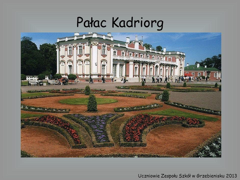 Pałac Kadriorg Uczniowie Zespołu Szkół w Grzebienisku 2013