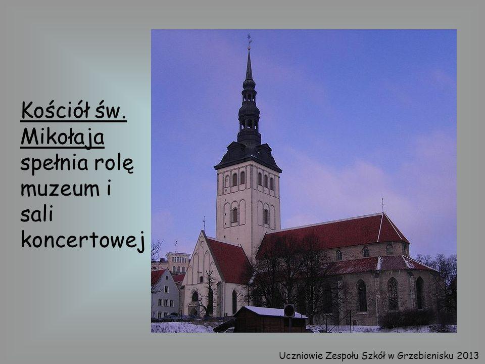 Kościół św. Mikołaja spełnia rolę muzeum i sali koncertowej Uczniowie Zespołu Szkół w Grzebienisku 2013