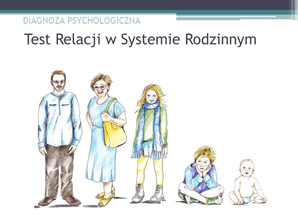 Test Relacji w Systemie Rodzinnym DIAGNOZA PSYCHOLOGICZNA
