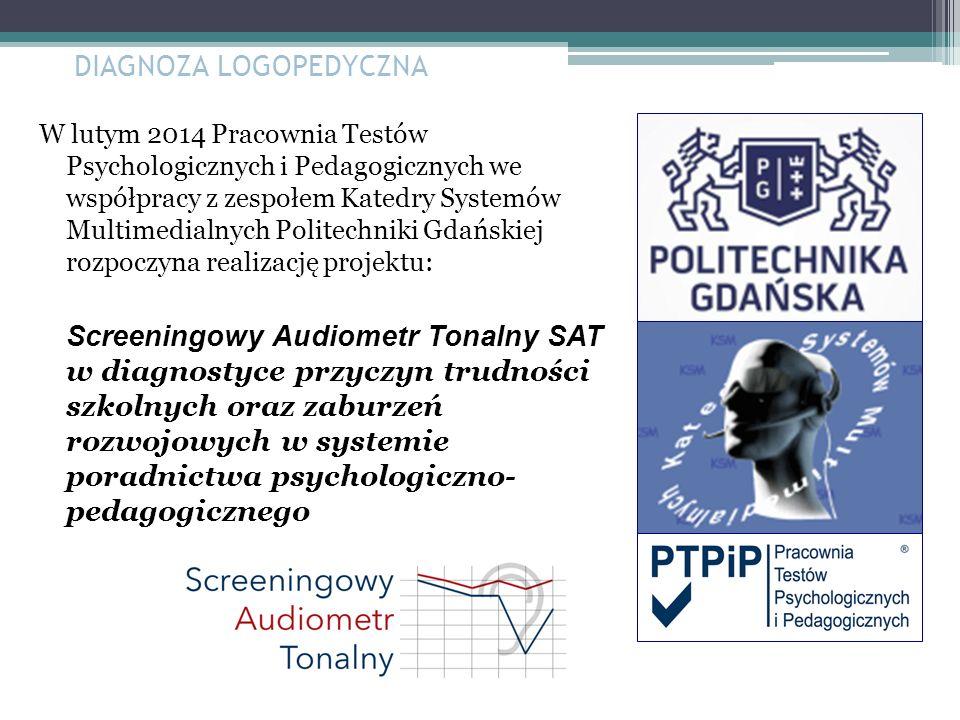 W lutym 2014 Pracownia Testów Psychologicznych i Pedagogicznych we współpracy z zespołem Katedry Systemów Multimedialnych Politechniki Gdańskiej rozpo