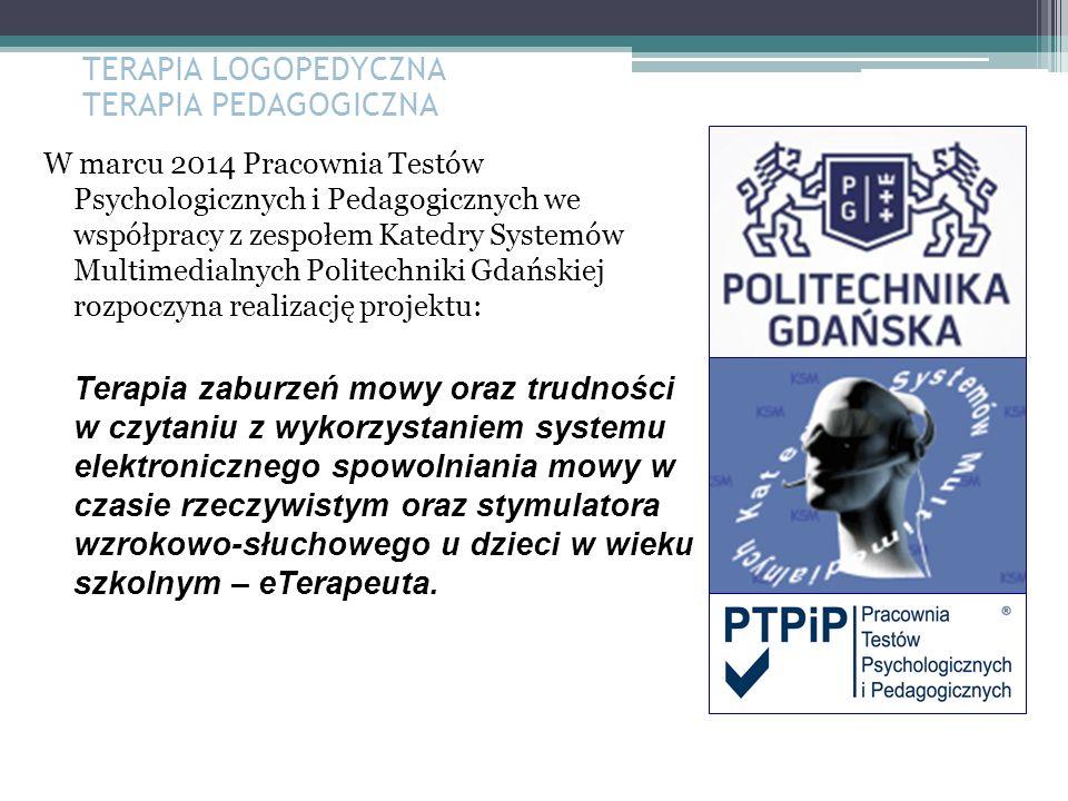 W marcu 2014 Pracownia Testów Psychologicznych i Pedagogicznych we współpracy z zespołem Katedry Systemów Multimedialnych Politechniki Gdańskiej rozpo