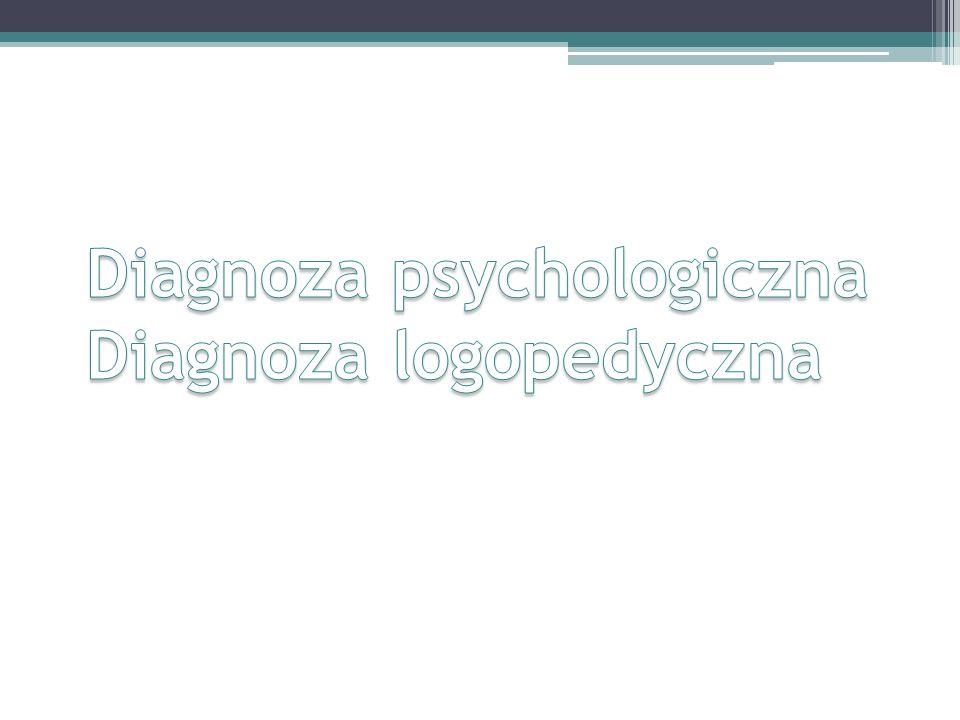Diagnoza Więzi Rodzinnych Dzieci i Młodzieży DIAGNOZA PSYCHOLOGICZNA