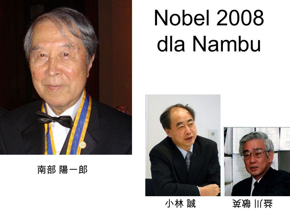 Nobel 2008 dla Nambu