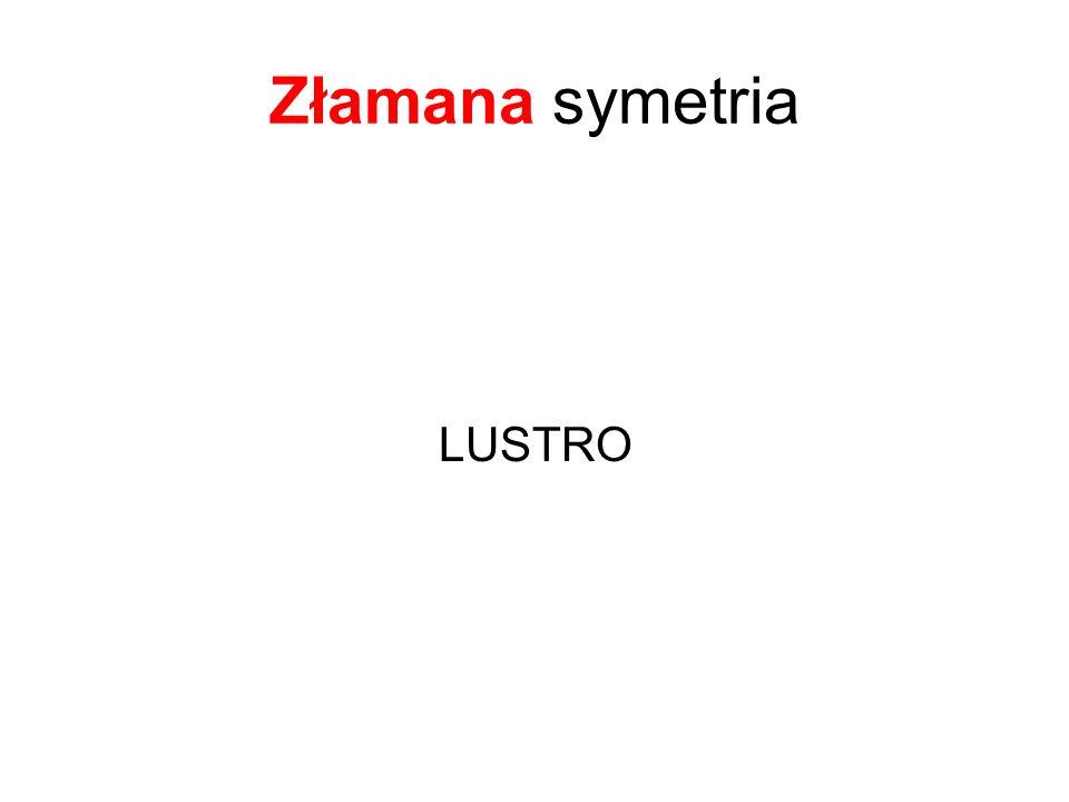 Złamana symetria LUSTRO