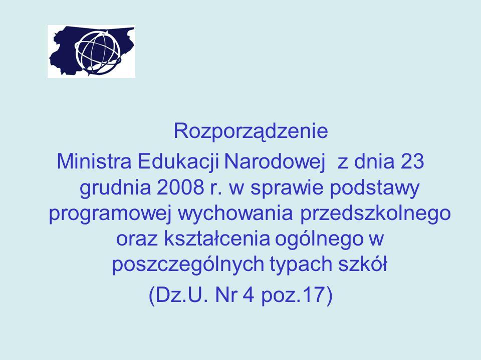 Podstawa programowa edukacji wczesnoszkolnej I etap edukacyjny- nauczanie zintegrowane - klasy I-III II etap edukacyjny - nauczanie przedmiotowe w klasie IV-VI