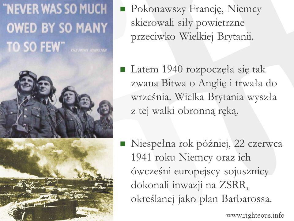 Pokonawszy Francję, Niemcy skierowali siły powietrzne przeciwko Wielkiej Brytanii. Latem 1940 rozpoczęła się tak zwana Bitwa o Anglię i trwała do wrze