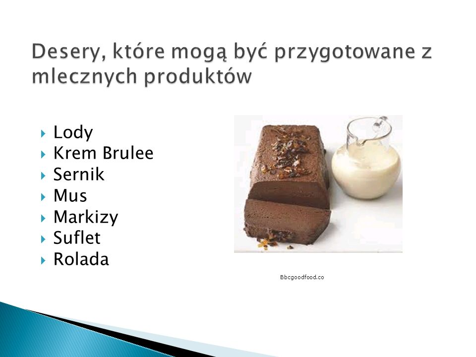 Lody Krem Brulee Sernik Mus Markizy Suflet Rolada Bbcgoodfood.co