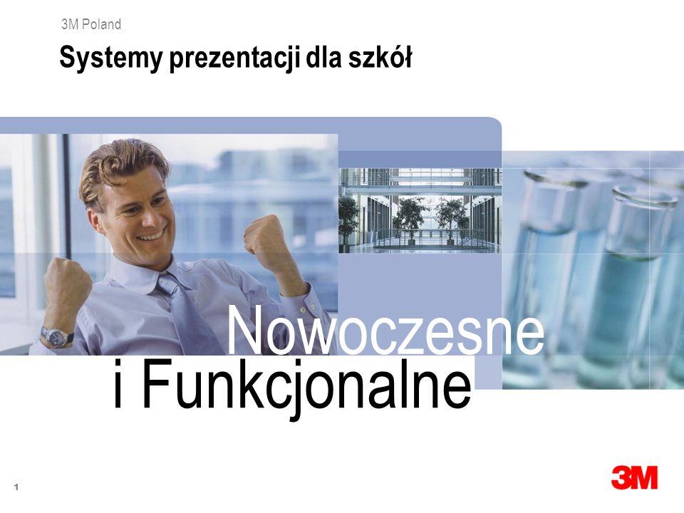 1 3M Poland Systemy prezentacji dla szkół i Funkcjonalne Nowoczesne
