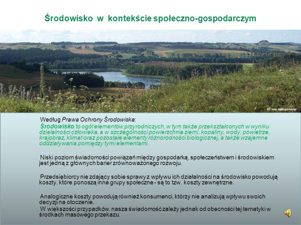 Zarządzanie środowiskiem, różnorodnością biologiczną i kapitałem przyrodniczym gminy Niniejsza prezentacja powstała w ramach projektu Lokomotywa zrówn