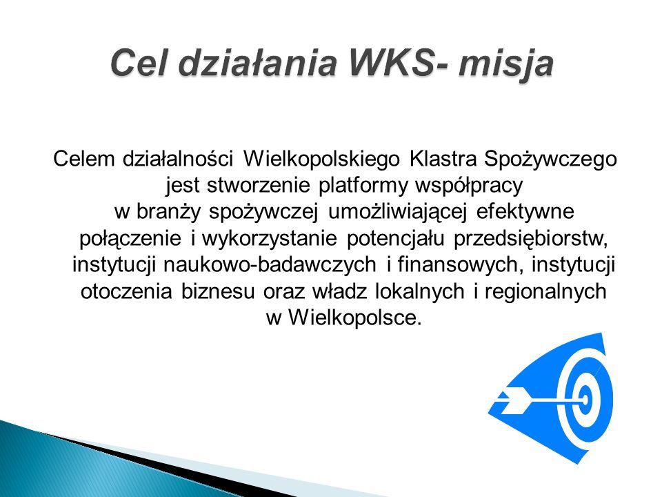 Celem działalności Wielkopolskiego Klastra Spożywczego jest stworzenie platformy współpracy w branży spożywczej umożliwiającej efektywne połączenie i