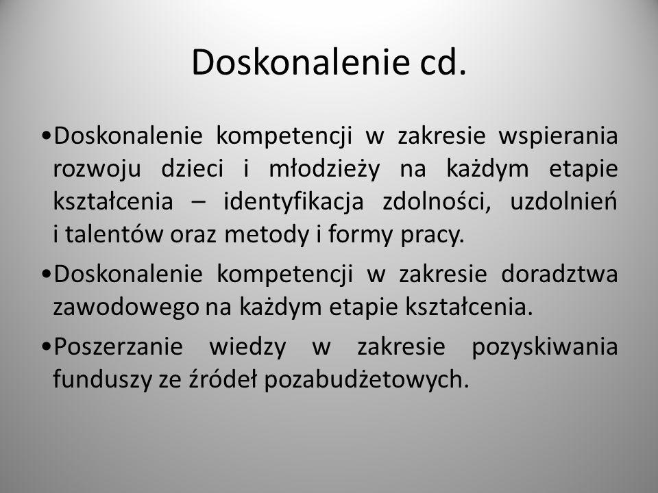 Doskonalenie cd.