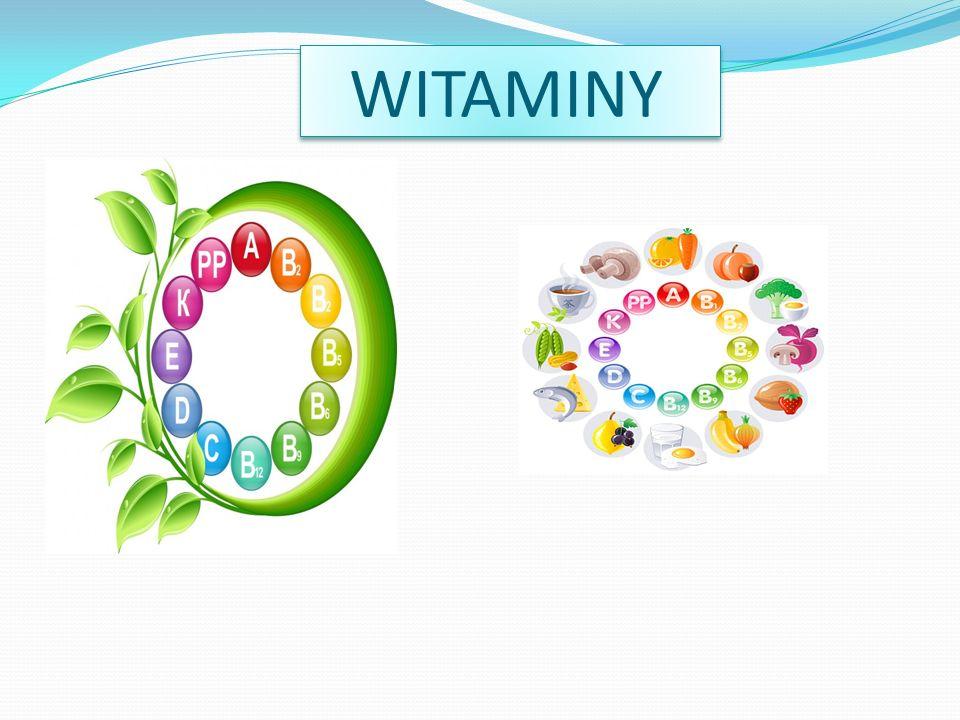 WITAMINA A Ta witamina opóźnia starzenie się,wzmacnia wzrok, kości i skórę a także wzmacnia odporność całego organizmu.