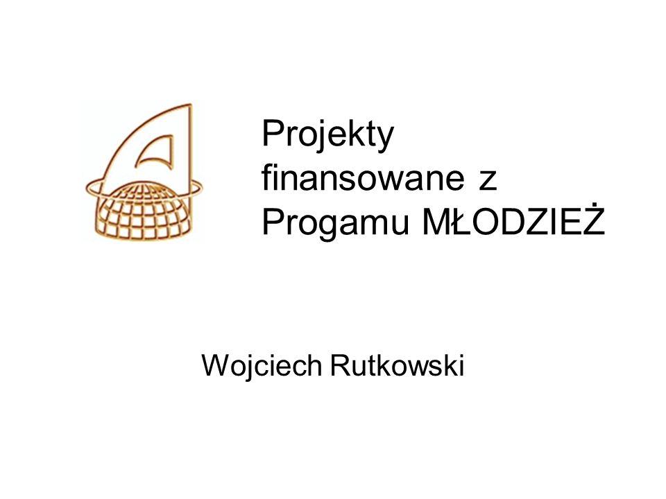 Projekty finansowane z Progamu MŁODZIEŻ Wojciech Rutkowski