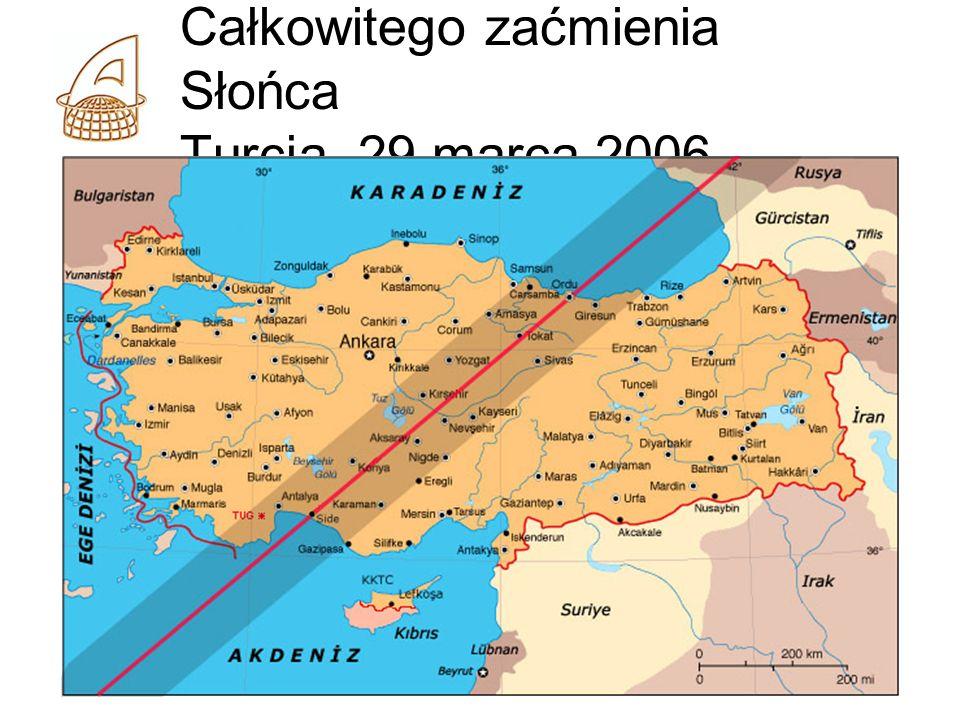 Całkowitego zaćmienia Słońca Turcja, 29 marca 2006