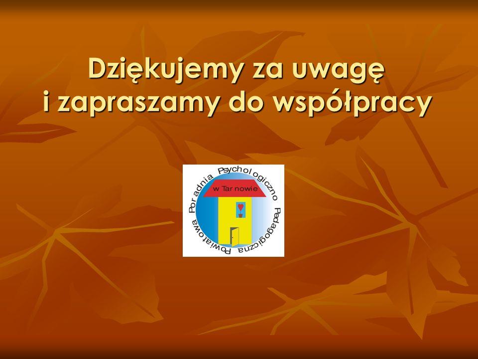 Dziękujemy za uwagę i zapraszamy do współpracy Dziękujemy za uwagę i zapraszamy do współpracy