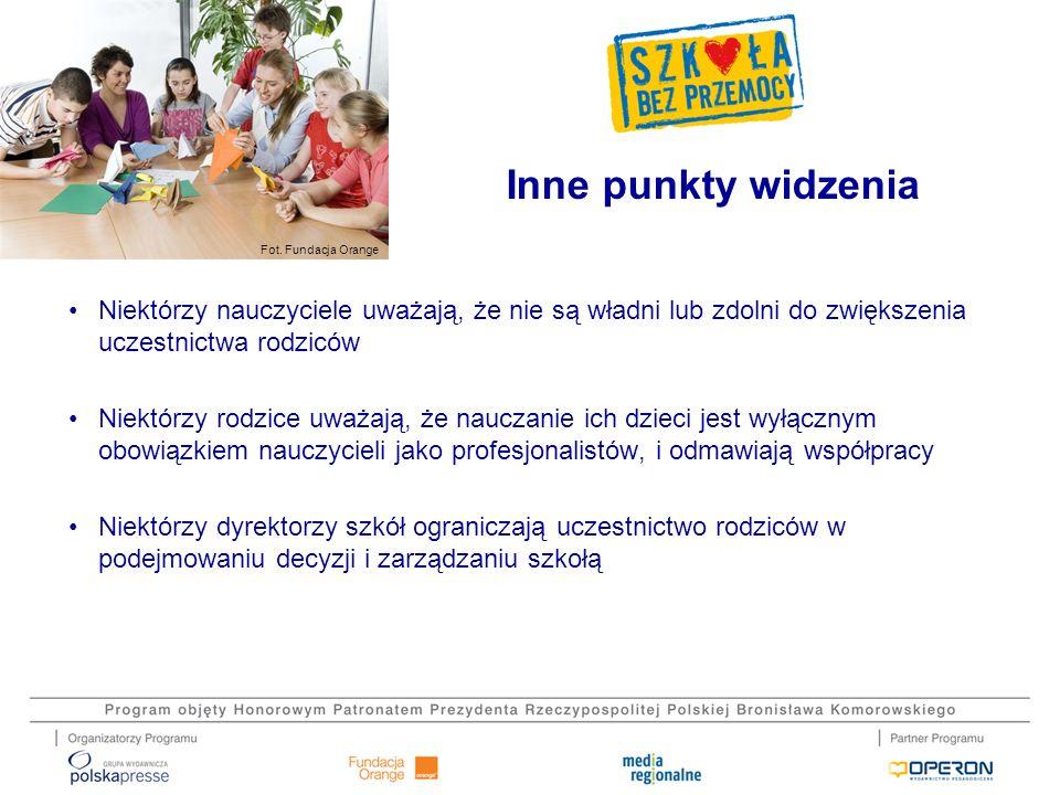 Fot.Fundacja Orange Nawiąż osobiste relacje z rodzicem.