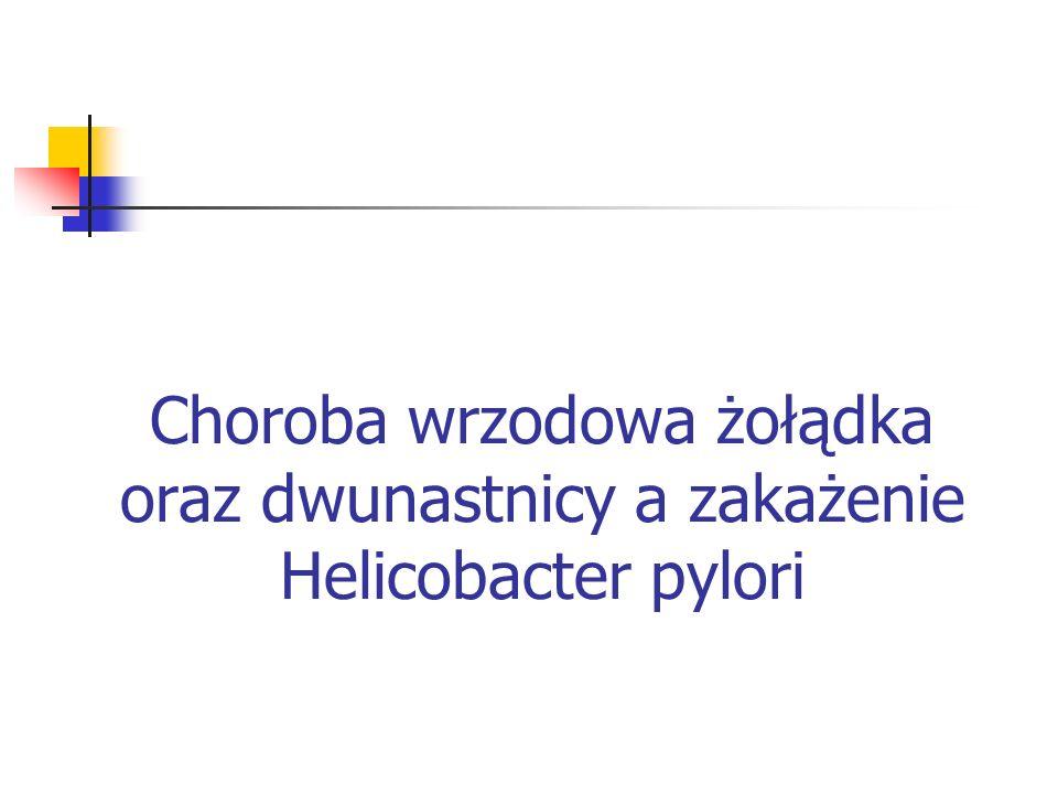 2 – Helicobacter pylori - Przenoszenie zakażenia głównie w rodzinie (matka – dziecko, rodzeństwo) - Droga oralno – oralna i oralno – fekalna (woda) - Narażenie zawodowe - M = K - Samoistne ustąpienie infekcji (0,3% rocznie)