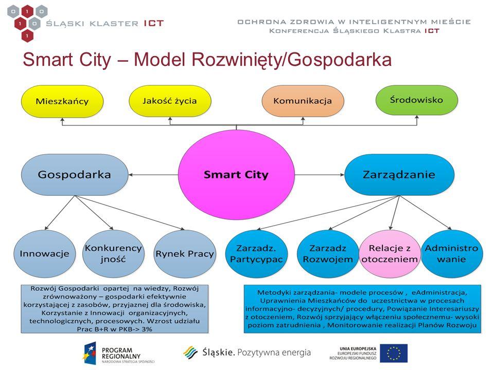 Smart City – Model Rozwinięty/Gospodarka