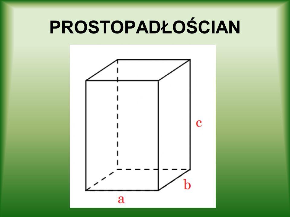 GRANIASTOSŁUP PRAWIDŁOWY TRÓJKĄTNY Definicja graniastosłupa prawidłowego trójkątnego – graniastosłup prawidłowy, którego podstawą jest trójkąt równoboczny.
